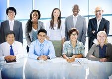 Разнообразия бизнесмены концепции команды корпоративной профессиональной Стоковые Изображения RF