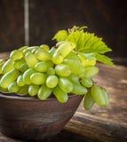 Разнообразия виноградины пальцев дам в коричневом цвете Стоковая Фотография