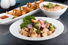 разнообразия еды свежие тайские Стоковая Фотография