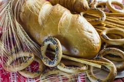 Разнообразия продуктов хлебопекарни Стоковое Фото