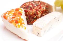разнообразия сыров Стоковое Изображение