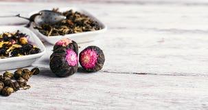 Разнообразия чая свободных лист Стоковое Фото