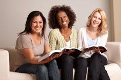 Разнообразная группа в составе женщина в малой группе Стоковые Изображения
