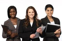 Разнообразная группа в составе коммерсантки работая в команде Стоковое Фото