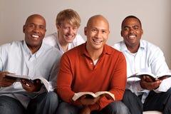 Разнообразная группа в составе люди изучая совместно Стоковое Фото