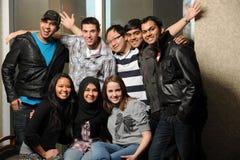 Разнообразная группа в составе студенты Стоковое фото RF