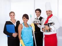 Разнообразная группа в составе ся в составе работники Стоковые Фото