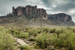 Разнообразная красота ландшафта пустыни Аризоны Стоковая Фотография RF
