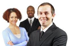 разнообразная счастливая команда Стоковые Фото