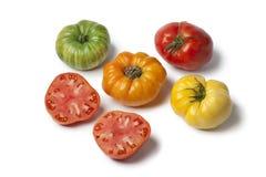 Разнообразность томатов бифстейка стоковое изображение