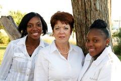 разнообразные женщины группы Стоковое фото RF