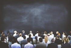 Разнообразные конференции бизнесмены концепции аудитории Стоковые Фотографии RF