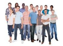 Разнообразные люди в вскользь Стоковое Фото