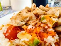 Разнообразный салат для диеты Стоковое фото RF