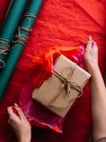 Разнослоистая упаковка пакета праздника Стоковые Изображения RF