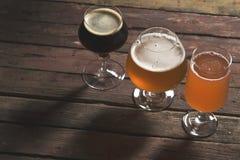 Разные виды пива Стоковые Изображения RF