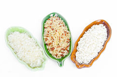 Разные виды риса стоковые изображения rf