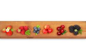 Разный вид плодоовощей ягоды Стоковое Изображение