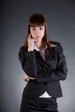Разочарованная женщина дела Стоковая Фотография
