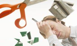 разочарованная задолженность Стоковая Фотография RF