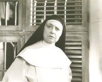 Разочарованная монашка Стоковые Фотографии RF