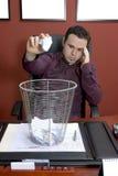 разочарованный бизнесмен Стоковое Фото