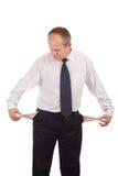разочарованный бизнесмен Стоковое фото RF