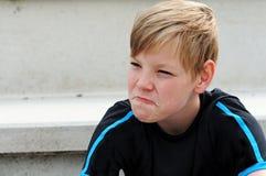 Разочарованный поклонник футбола Стоковая Фотография