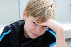 Разочарованный поклонник футбола стоковые фотографии rf