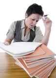 Разочарованный учитель Стоковое Фото