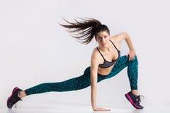 Разработка девушки танцора Стоковое фото RF