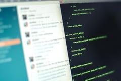 Разработка программного обеспечения стоковое изображение rf