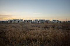 Разрастание городов в западном Джордан стоковое фото rf