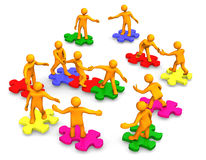 разрешать проблемы принципиальной схемы Стоковые Изображения