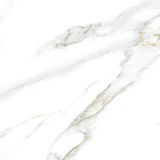 Разрешение белой мраморной текстуры высокое Стоковое Изображение RF