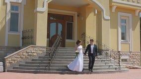 Разрешение жениха и невеста особняк страны для свадебной церемонии видеоматериал