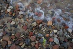 разрешение камушков jpg пляжа высокое Стоковое Фото