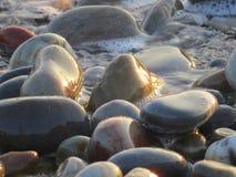 разрешение камушков jpg пляжа высокое Стоковое фото RF