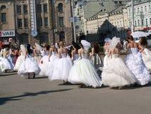 разрешение невест Стоковые Фото