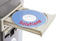 разрешения диска компьютера Стоковые Фотографии RF