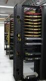 разрешения рядка kvm конца datacenter Стоковые Фотографии RF