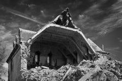 Разрушанное здание Стоковые Фотографии RF