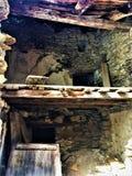 Разрушение, затерянность, руины и лучи стоковые изображения rf