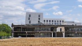 Разрушение здания стоковые фотографии rf