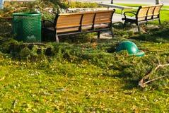 Разрушение мусорного бака Стоковая Фотография RF
