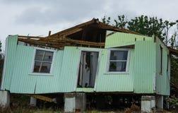 Разрушение урагана к домам, жизням, свойству Стоковые Изображения RF