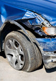 разрушенная вертикаль автомобиля Стоковые Фото