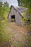 разрушенная дом старая стоковое фото