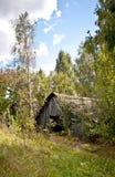 разрушенная дом старая стоковые изображения