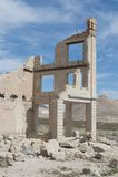 разрушенное здание Стоковое Фото